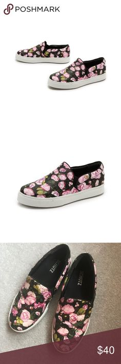 Schutz Rosa Slip on Floral call sneaker size 37 Schutz Rosa floral slip on sneakers in a size 37. They are in good condition with normal wear, mainly have some light dirtiness to the rubber. They are a great way to embrace the fall sneaker trend! #shoefie #schutz #fall #sneakers #floral SCHUTZ Shoes Sneakers
