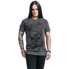 """Classica T-Shirt uomo """"Dead Don't Lie"""" del brand #AlchemyEngland."""