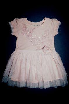 Next Sommerkleid aus Baumwolle mit Tüllrock Sehr edel! Farbe: rosa Gr. 62-68 (3-6 Mon.) 20,00 €