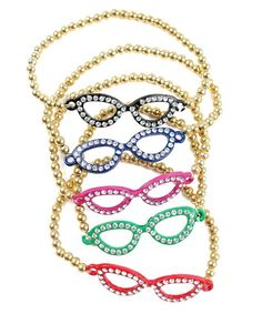 Eyeglasses Bracelet from P.S. I Love You More. Shop online at: psiloveyou​more.store​nvy.com