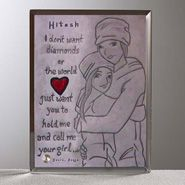 Call  Me  your  girl  Glass  Keepsake for Personalized Gifts