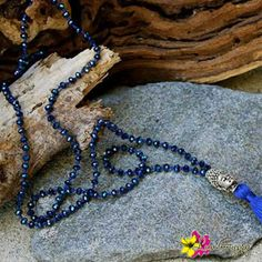 """Our """"Eternity Mala Necklace"""" for only $39. Enter """"FREESHIPPING"""" for orders $25 and above when you checkout from our online store!# #MalaNecklace #Jewelry #NewTrends #Beads #SilverBuddha #Blue #Buddha #TassleNecklace #Tassle #Necklace #HippieStyle #MeditationNecklace #EternityNecklace #Gypsy #Boho #Peace #Love #Happiness #Luvgypsy #Bohemian #Mantras #StatementJewelry #Jewelry #Eternity #BohoChic #Bohemian #BohemianJewelry #GypsyNecklace #NiceJewelry"""