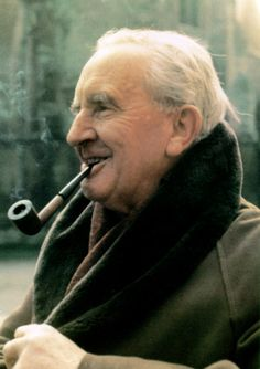 J.R.R. Tolkien | I have yet to identify the year in which this photograph was taken.