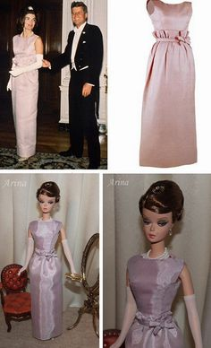 Jackie Kennedy lavender dress | by arina_fashions