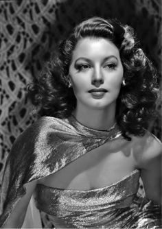 Ava Gardner, photo by Clarence Sinclair Bull, 1940s.