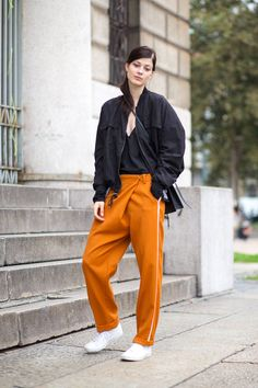 The latest street style spotted at Milan Fashion Week:
