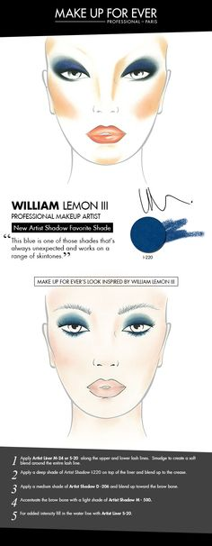 MAKE UP FOR EVER 30 Years. 30 Colors. 30 Artists. William Lemon III's favorite shade I-220.