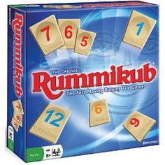 Classic!  This is one of my favorite games!  Camping and Rummikub with the Mills!   Fun!