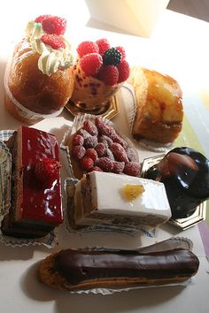 Patisserie... One thing I miss from Paris