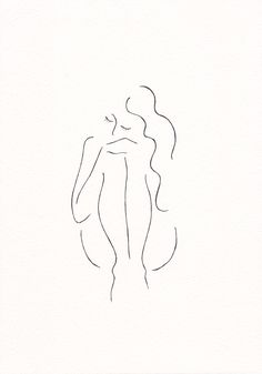 Siret Roots - nude girl sketch