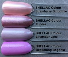 Welcome to another new colour collection from CND™ In this blog we're going to look at each colour individually, ahead of the global launch date at the end of February. This Summer Collection is fabulously feminine, and also crucially, fills some colour gaps in our complete SHELLAC™ … Cnd Shellac Colors, Cnd Nails, Gel Polish Colors, Cnd Colours, Gel Color, Nail Polishes, Pretty Nail Colors, Pretty Nail Art, Creative Nail Designs