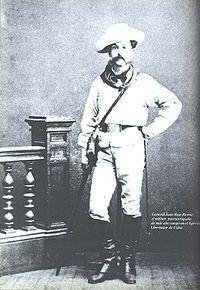 Juan Rius Rivera. General. Militar puertorriqueño de más alto rango en el Ejército Libertador cubano en las guerras por la independencia.