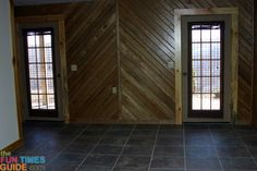 Log Siding Walls - How To Make Only One Room In Your House Look Like A Log Cabin!
