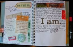 love the idea of SMASH books - more my style. Great for journaling...
