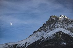 The Moon by day Moon, In This Moment, Mountains, Random, Day, Nature, Pictures, Photography, Travel