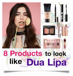 """""""Dua Lipa Makeup"""" by fontanaa ❤ liked on Polyvore featuring beauty, Maybelline, Clarins, Charlotte Russe, L'Oréal Paris, Charlotte Tilbury, makeup, singer and dualipa"""