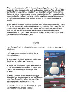 General guide to PoGo - Album on Imgur