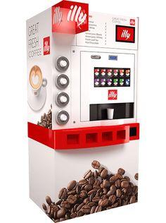 Les machines à café - Illy Coffee Tower | Pelican Rouge