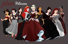 gothic disney princess - Google Search