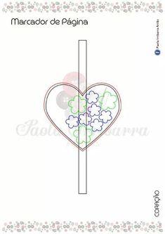 Dia das Mães em Feltro - Sugestões de Presentes e Lembrancinhas Crafts To Make And Sell, How To Make, Valentines, Symbols, Peace, 8 Martie, 1, Mothers Day Crafts, Marque Page