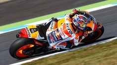 From Vroom Mag... Dani Pedrosa 2nd on opening day at Motegi, Marc Marquez 7th