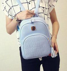 New Fashion Women Backpacks Women's PU Leather Backpacks Small Girl School Bag High Quality Ladies Bags Designer Bolsas Herald