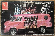 AMT: 1977 KISS Custom Chevy Van Model Kit #Vintage #Toys
