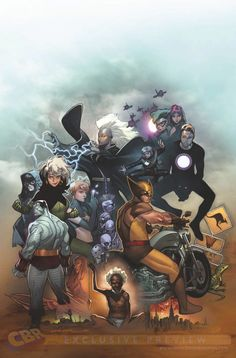 Uncanny X-Men 600 cover by Oliver Coipel