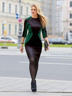 Burda Easy Autumn/Winter 2013-2014 #opticalillusiondress