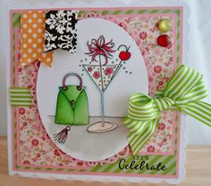 Hi all Well we have a new challenge over at Ladybug Crafts Ink today and we also have a new release too Floral Delight 3 is a . Ladybug Crafts, Martini, Handmade Cards, Cardmaking, Whimsical, Ink, Celebrities, Floral, Pretty