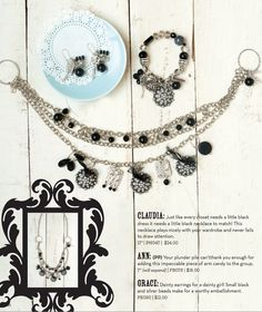Claudia is one of my favorite necklaces!! Where is long or short!! www.plunderdesign.com/tabithapuckett stylist #175