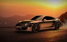 Porsche 911 (991.2) Turbo S 2016 - 3D Model - Luxxlabs