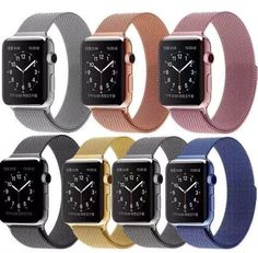 55d8434b308 FOHUAS Series 2 1 Milanese Loop Watch Strap For Apple Watch Band 42mm 38mm  link · Pulseira De Aço ...