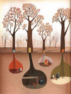 cozy homes underground