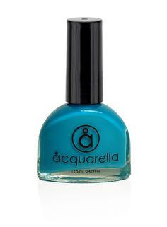 The top water-based non-toxic nail polish: Acquarella. Love this shade, too!