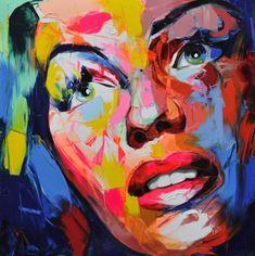La fuerza del color bajo el pincel de Françoise Nielly.