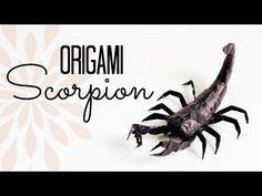 Origami Scorpion Tutorial (Tadashi Mori) - YouTube