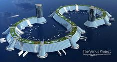 The Venus Project Plans to Bring Humanity to the Next Stage of Social Evolution. / Since Roxanne Meadows has worked with renowned futurist Jacque Fresco to develop and promote The Venus Project. Futuristic City, Futuristic Design, Futuristic Architecture, Architecture Design, Architecture Colleges, Computer Architecture, Minimalist Architecture, Organic Architecture, City Ville