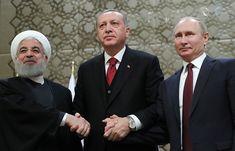 Путин и Эрдоган наметили пути развития сотрудничества России и Турции   Политика   4 апреля, 20:34 UTC+3   Российский и турецкий лидеры договорились с президентом Ирана Хасаном Роухани продолжать взаимодействие в рамках сирийского урегулирования   Подробнее на ТАСС:   http://tass.ru/politika/5096145
