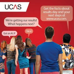 Waiting for your results?  Not sure what happens next?  You can find out more about Clearing and what to do if you haven't met your offers on the UCAS website!