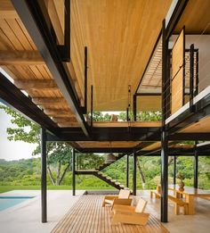 Our latest house crush was designed by San Jose-based architect Benjamin Garcia…
