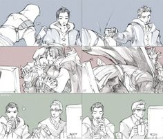 Altair&Malik, Ezio&Leonadro and Desmond&Shaun Assassin's Creed