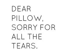 dear pillow