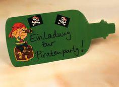 Bildergebnis für einladungen kindergeburtstag pirat