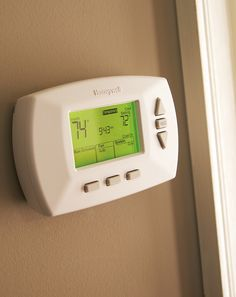Not many home improvement projects offer yearly savings like replacing your old thermostat with a new programmable model. Replacing a thermostat is an easy DIY project, too. It doesn't take much more than a screwdriver. Click through for a simple tutorial.