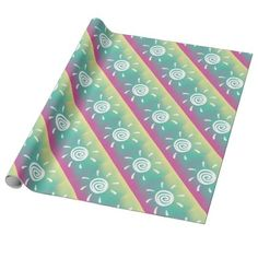 #pink - #Sundrop Wrapping Paper