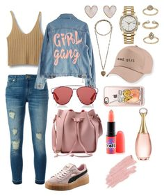 """""""simple 👟✨"""" by giiovannatorres on Polyvore featuring moda, MICHAEL Michael Kors, Puma, High Heels Suicide, Christian Dior, Etro, MAC Cosmetics, Casetify, Rolex e New Look"""