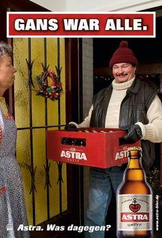 Weihnachten Bier Sprüche : 157 besten astra bilder auf pinterest beer funny beer ~ Haus.voiturepedia.club Haus und Dekorationen