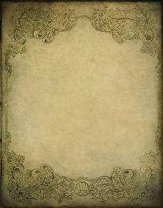 vintage scrapbook paper - could use for life histories Old Paper, Paper Art, Paper Crafts, Foam Crafts, Paper Toys, Papel Vintage, Vintage Paper, Background Vintage, Paper Background