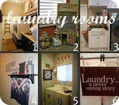 Laundry closet inspriation